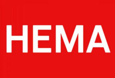 Het logo van de HEMA