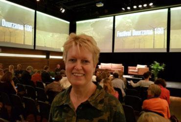 Marijke de Jong aanwezig bij het Duurzame 100 Festival van Trouw namens het Beter Leven keurmerk