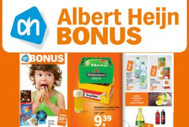 Een afbeelding van een Albert Heijn Bonusfolder